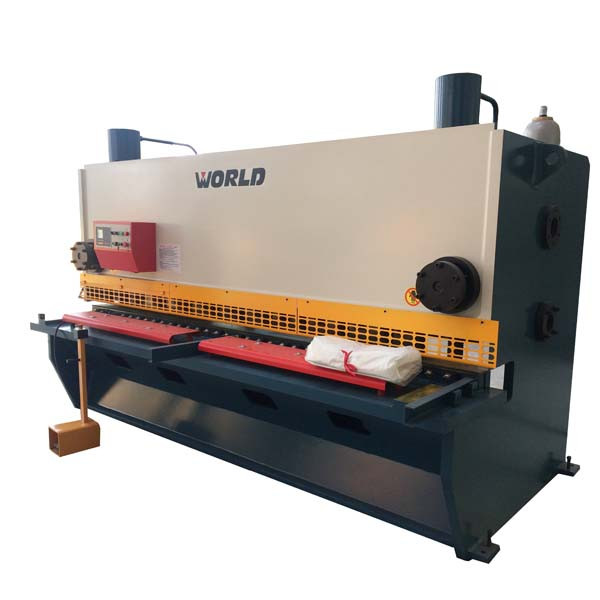 Guillotine hidrolik Cutting Machine untuk 8mm tebal Steel Plate